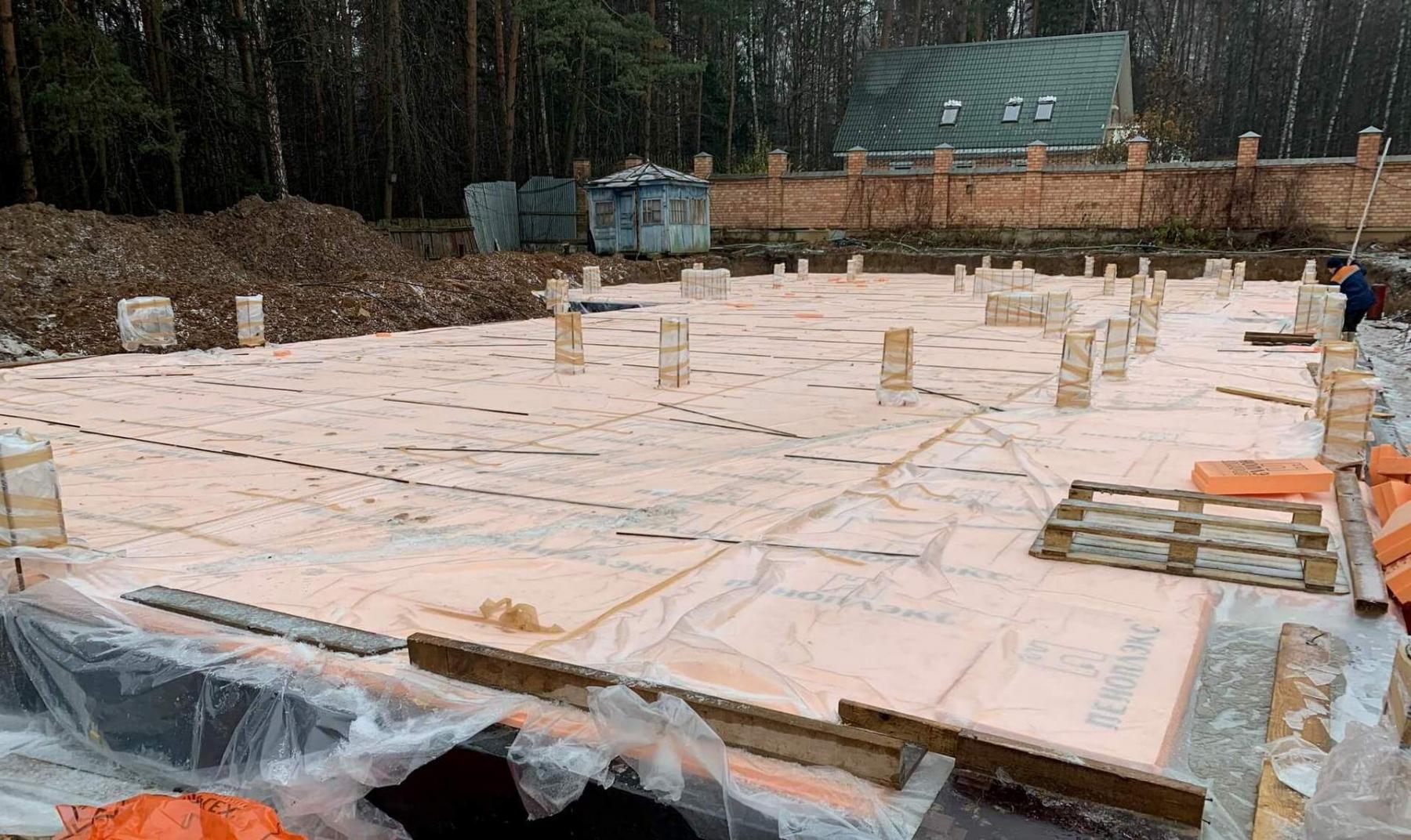 Работы по уходу за бетоном при пониженных температурах